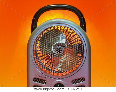 Electric Fan Heater 'B'