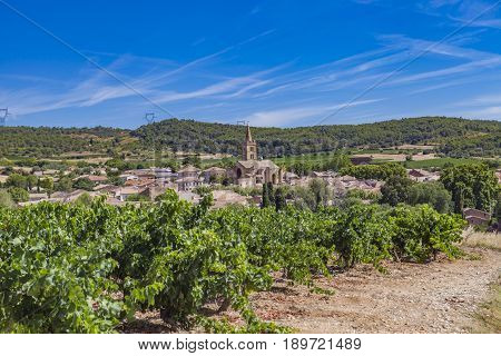 Town Cruzy In Languedoc-roussillon Province In France