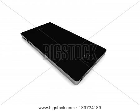 Smartphone isolated on white background. High quality 3d render.