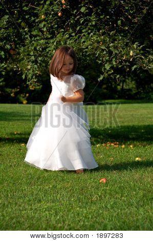 Dancing Flower Girl