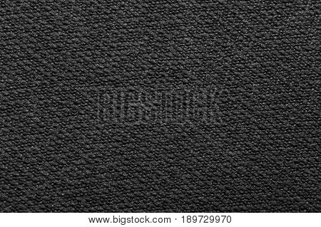 black velvet fabric as background. macro . A photo