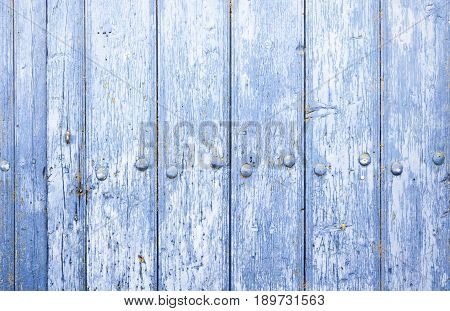 Blue Wood Background Texture