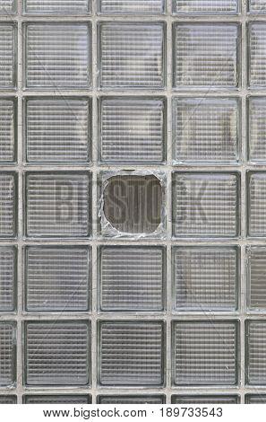 Broken Glass Wall