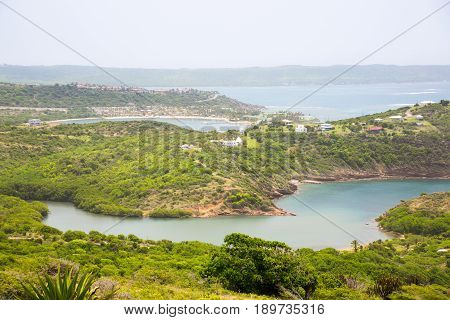 Antigua, Mamora bay view from the Shirley Heights.