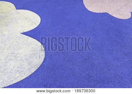Rubber Flooring Decorated