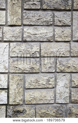 Synthetic Stone Wall