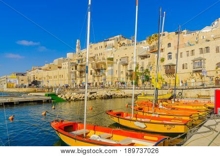 Old Port Of Jaffa, Now Part Of Tel-aviv-yafo