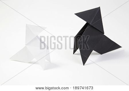 Two Origami Bow