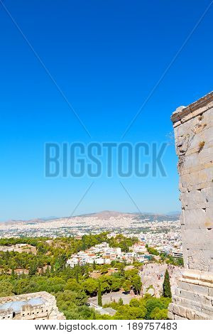 Ancient  Town And  In The