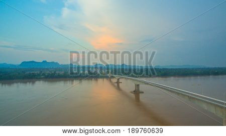 Third Thai And Lao Friendship Bridge