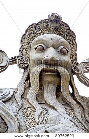Beard  In The Temple Bangkok Asia   Face   Wat  Palaces