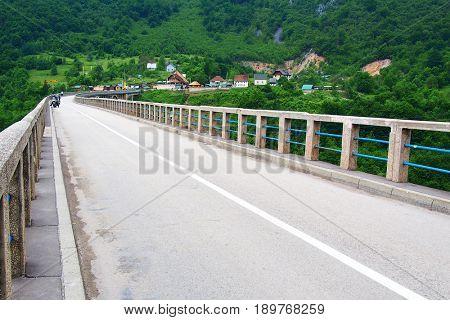 Tara Gorges in Montenegro, Europe