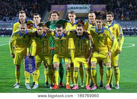 Ukrainian National Football Team