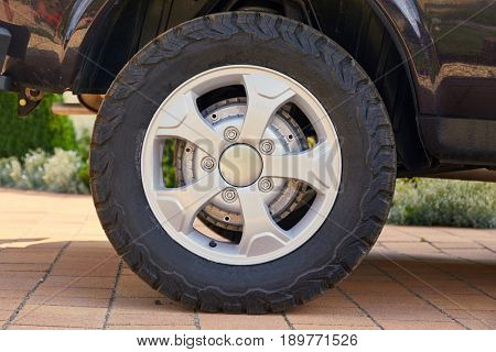 Wheel of a hobby offroad vehicle