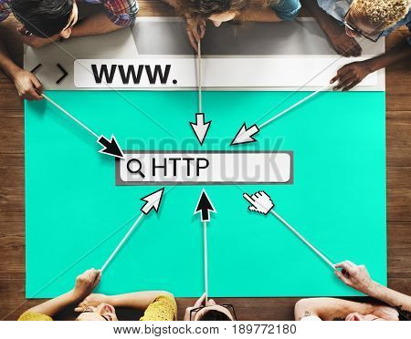 HTTP Website Design Coding Program Content Graphic Word