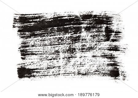 Black brush strokes - grunge abstract background