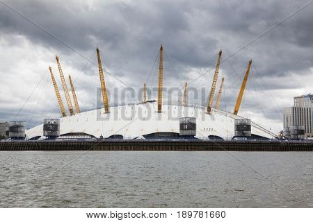 LONDON/UK - MAY 20 : O2 arena in North Greenwich