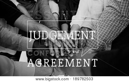 Judgement agreement equal fair rights