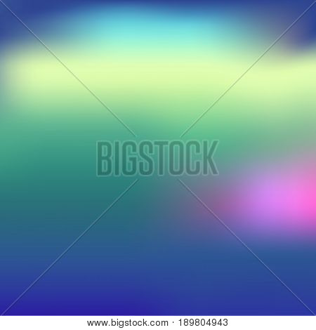 Vector graphic design element for your posters and wallpaper. Summer sunset blurred background.