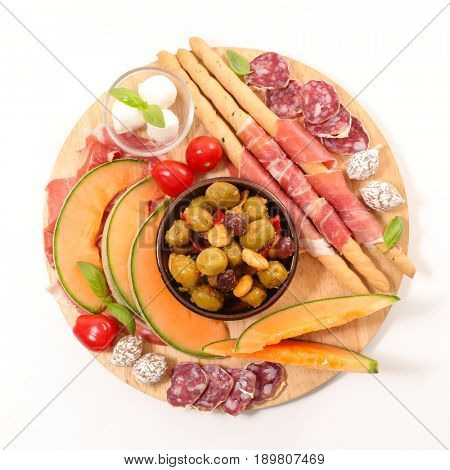 antipasto and snacks