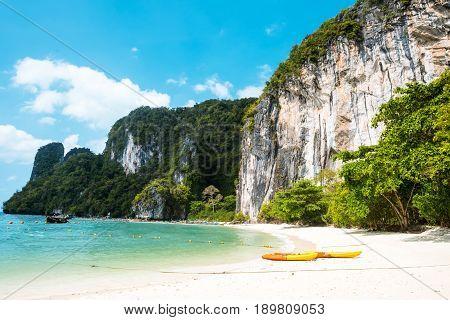 Koh Hong island bay and kayak, Andaman Sea - Thailand