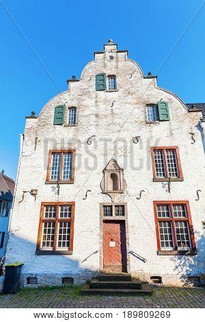 Historical Building In Bedburg Alt-kaster, Germany