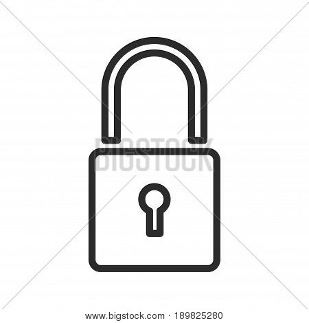 padlock security protect privacy symbol vector illustration