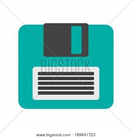 diskette or floppy disk  icon image vector illustration design