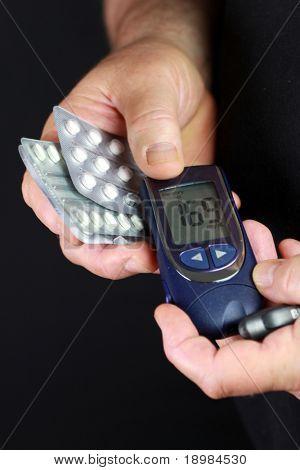 Blutzucker-test