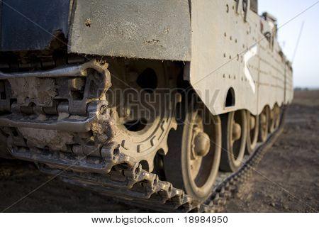 caterpillar of tank Merkava