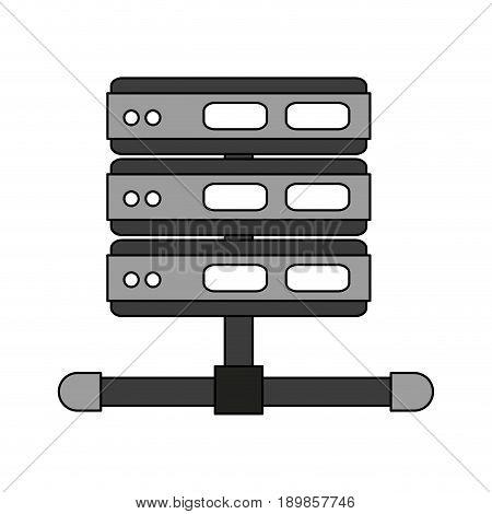 Video projector illustration vector design graphic icon
