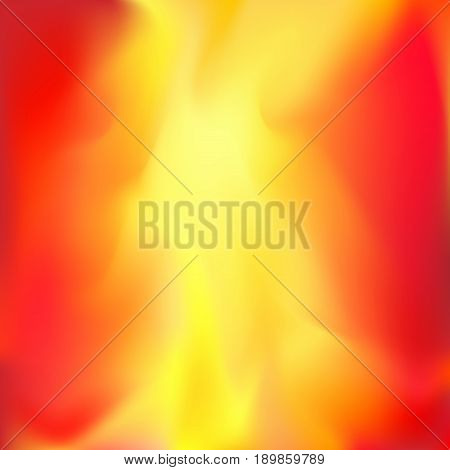 Abstract bright flame layout background. Flame effect art. easy to use beneath page layout. Festive card. Vector illustration