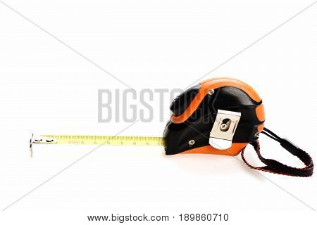 Device For Measuring With Belt Clip, Isolated On White Background