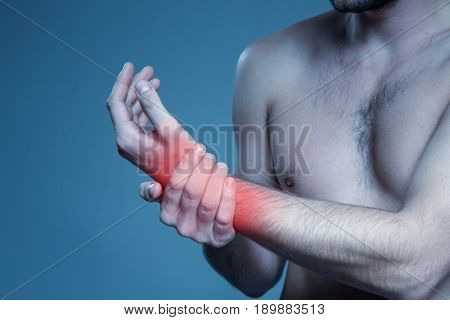 Concept disease. Pain in the wrist