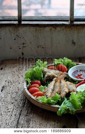 Fried Fish For Family Meal
