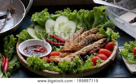Vietnamese Food, Fried Fish
