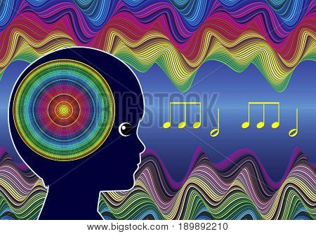 Children and Music. Sounds activate the brain in early child development
