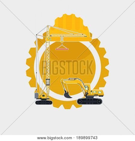 Building Tools. Special Machines For The Construction Work. Special Equipment. Road Repair. Commerci