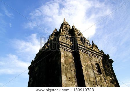Sojiwan Temple near to Prambanan Temple, Central Java, Indonesia