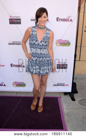 LOS ANGELES - JUN 3:  Christina Elizabeth Smith at the Etheria Film Night 2017 at the Egyptian Theater on June 3, 2017 in Los Angeles, CA