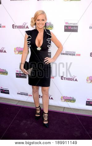 LOS ANGELES - JUN 3:  Katie Lohmann at the Etheria Film Night 2017 at the Egyptian Theater on June 3, 2017 in Los Angeles, CA