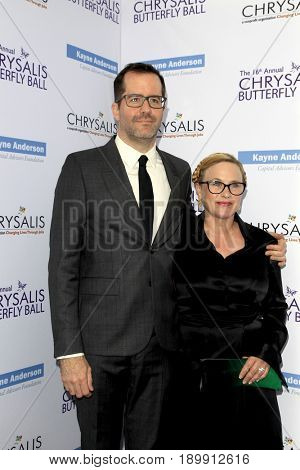 LOS ANGELES - JUN 3:  Eric White, Patricia Arquette at the 16th Annual Chrysalis Butterfly Ball at the Private Estate on June 3, 2017 in Los Angeles, CA