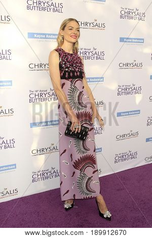 LOS ANGELES - JUN 3:  Jaime King at the 16th Annual Chrysalis Butterfly Ball at the Private Estate on June 3, 2017 in Los Angeles, CA