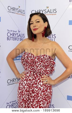 LOS ANGELES - JUN 3:  Lindsay Sloane at the 16th Annual Chrysalis Butterfly Ball at the Private Estate on June 3, 2017 in Los Angeles, CA