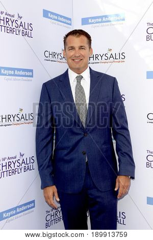 LOS ANGELES - JUN 3:  Scott Stuber at the 16th Annual Chrysalis Butterfly Ball at the Private Estate on June 3, 2017 in Los Angeles, CA
