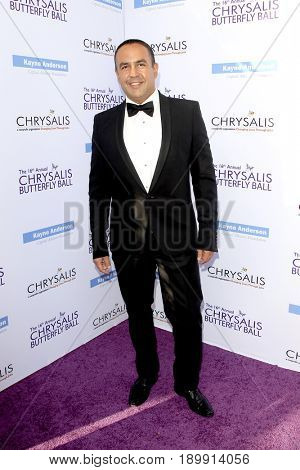 LOS ANGELES - JUN 3:  Louie Anchondo at the 16th Annual Chrysalis Butterfly Ball at the Private Estate on June 3, 2017 in Los Angeles, CA