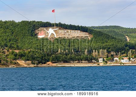 Gallipoli Peninsula. Turkey