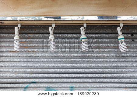 Four CFL Bulbs Compact Fluorescent Energy Efficient Lamps
