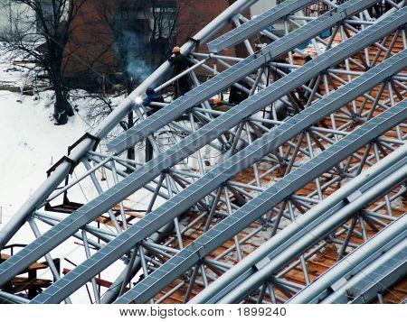 Amphitheatre Roof Construction