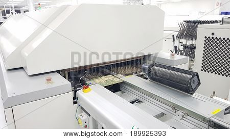 Electronic Industrial,Inspection under Microscope ,SMT reflow oven machine